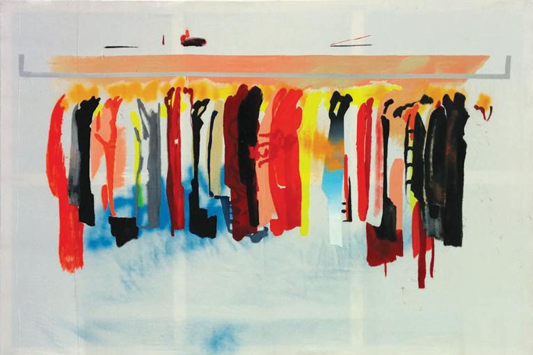 #BestSeller XVIII, óleo, acrílico y esmalte sobre algodón, 130x195 cm, 2014