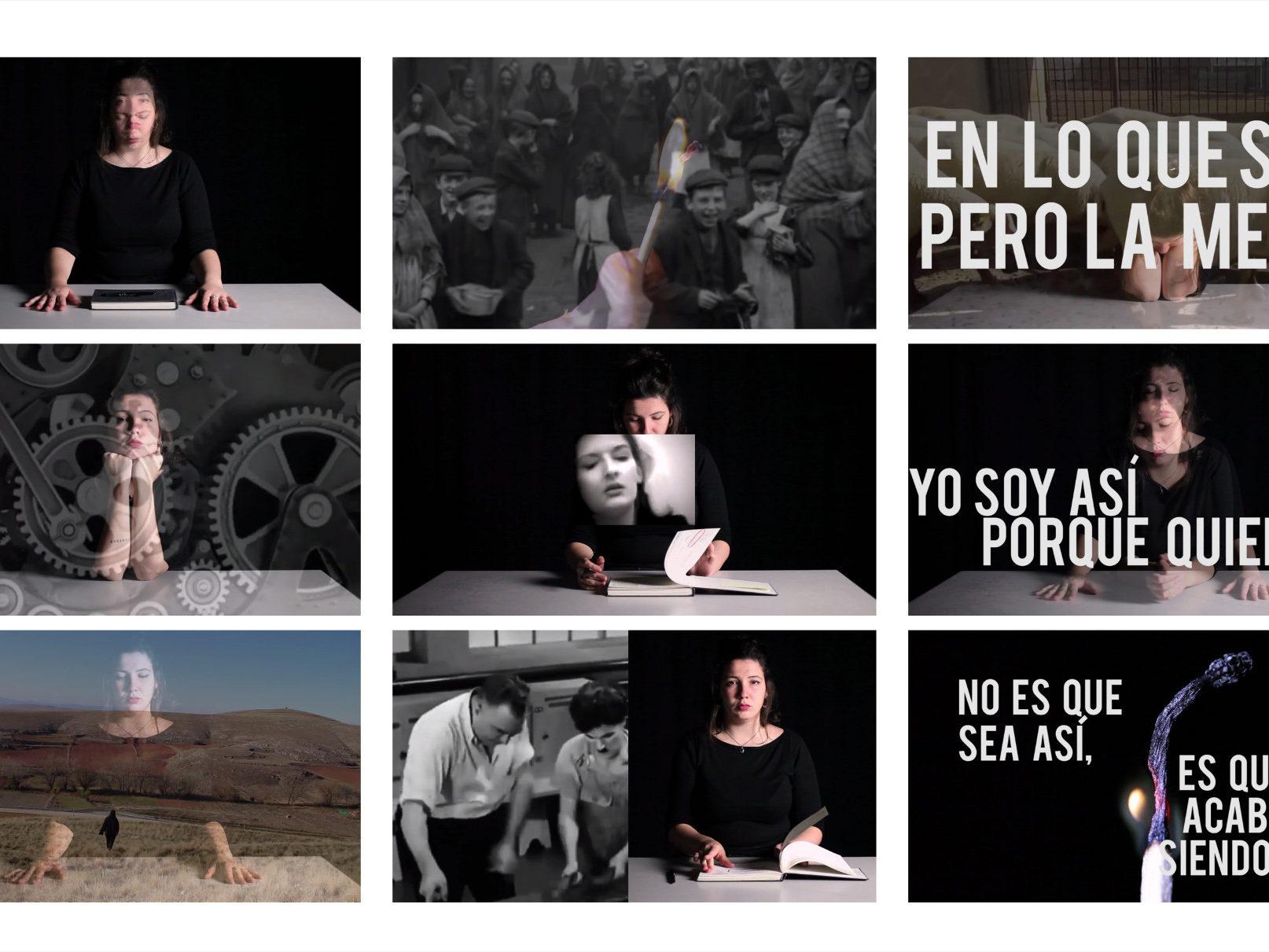 Fotogramas Bloque I Identificacion, 2020. Ensayo audiovisual